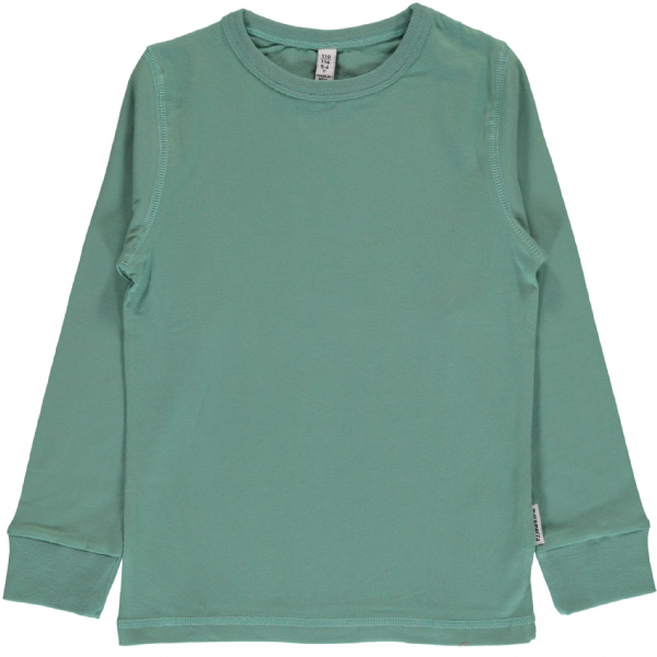 Maxomorra Long Sleeve Top Pale Army